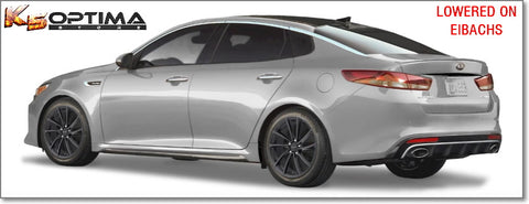 2016 to 2020 Kia Optima Eibach Lowering Springs