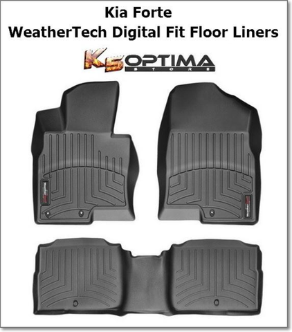 Kia Forte WeatherTech Digital Fit Floor Liners
