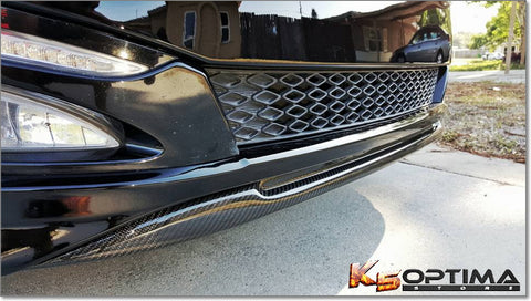 2011-2013 Kia Optima Carbon Fiber Front Lip Spoiler