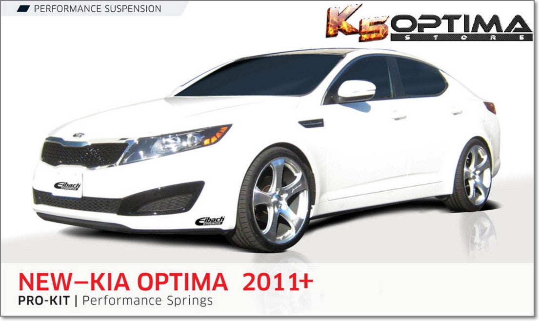 Kia optima eibach springs