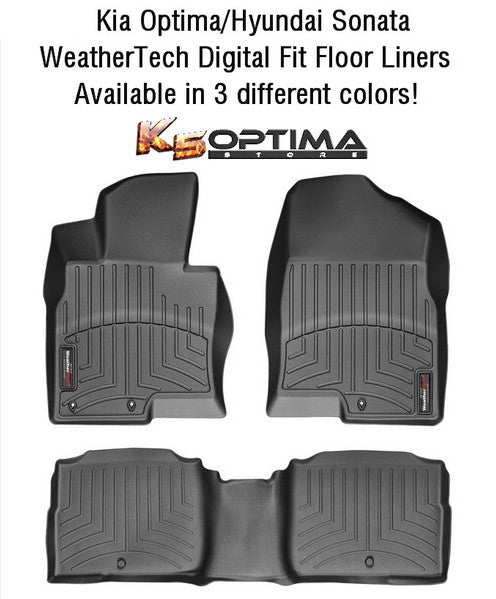 Weathertech Floor Mat Floorliner Kia Optima