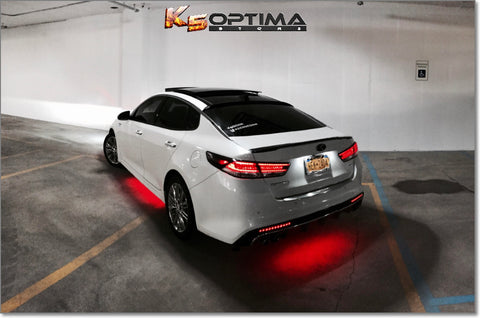 2016-2019 Kia Optima Painted Trunk Spoiler by Keen Design