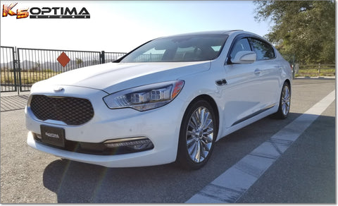 Kia K900 Dark Tint Window Visors