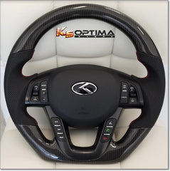 Kia Optima carbon fiber steering wheel