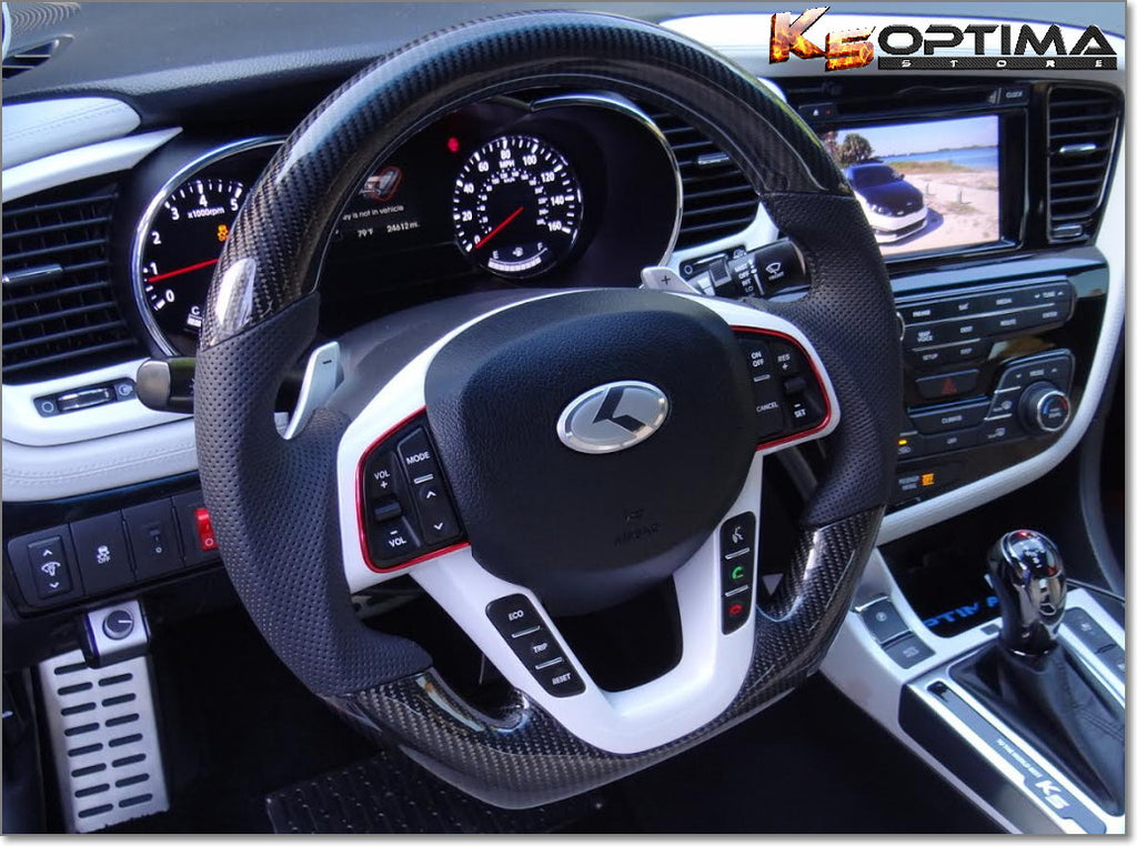 K5 Optima Store 2011 2015 Kia Optima Carbon Fiber Steering Wheel