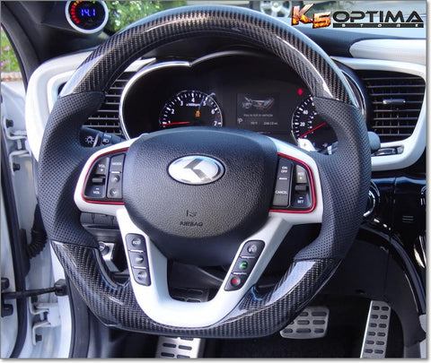 2011-2016 Kia Optima Carbon Fiber Steering Wheel