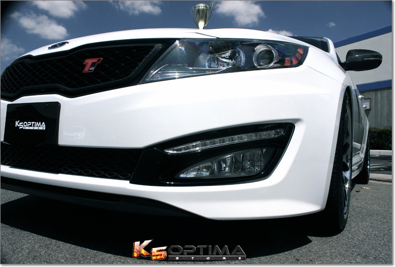 daytime running lights optima