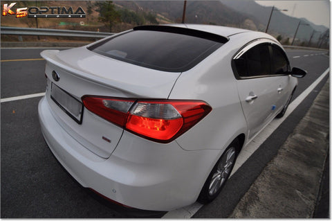 2014-2017 Kia Forte Sedan Painted Trunk Spoiler by Keen Design