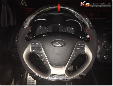 2010-2016 Kia Forte Carbon Fiber Steering Wheel