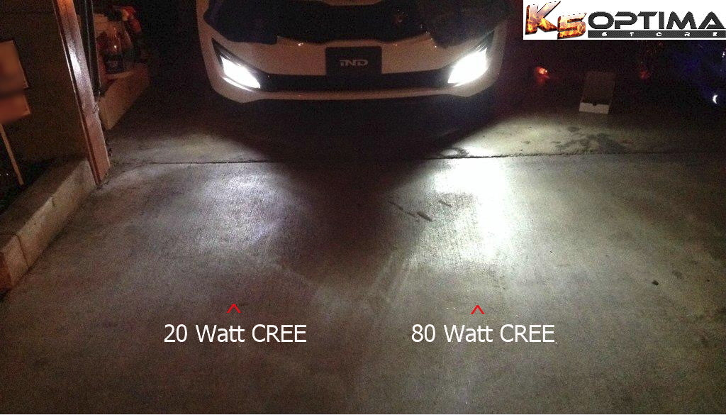 K5 Optima Store Cree Led Fog Light Bulbs 1 Pair