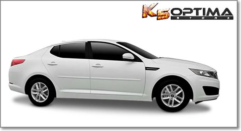 2011-2016 Kia Optima Painted Body Side Moldings