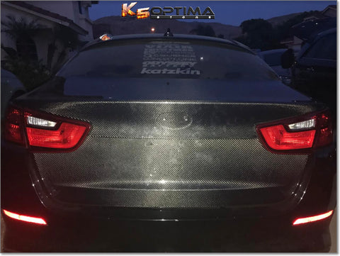2014-2015 Kia Optima - Seibon Carbon Fiber Trunk Lid
