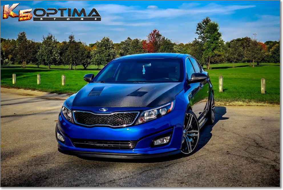 K5 Optima Store Seibon Carbon Fiber Hood Kia Optima