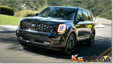 "Kia Telluride 3.0 K Logo Emblem Sets ""Nightfall Edition"""