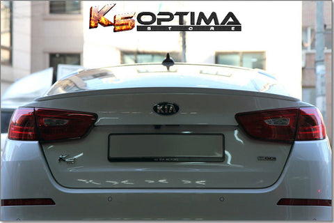 2014-2015  Kia Optima Painted Trunk Spoiler