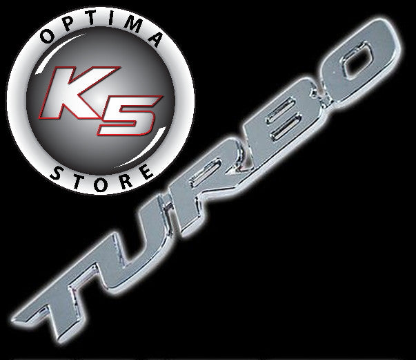 K5 Optima Store Metal Quot Turbo Quot Emblem