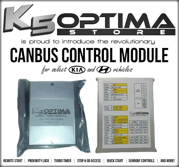 K5 Optima Store K5os Canbus Control Module