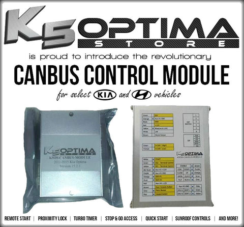 K5OS Canbus Control Module