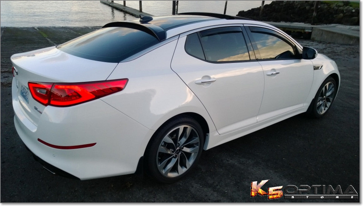 K5 Optima Store Weathertech In Channel Window Deflectors
