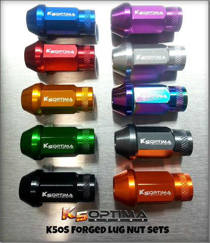 K5OS Forged 20pc Aluminum Lug Nut Set
