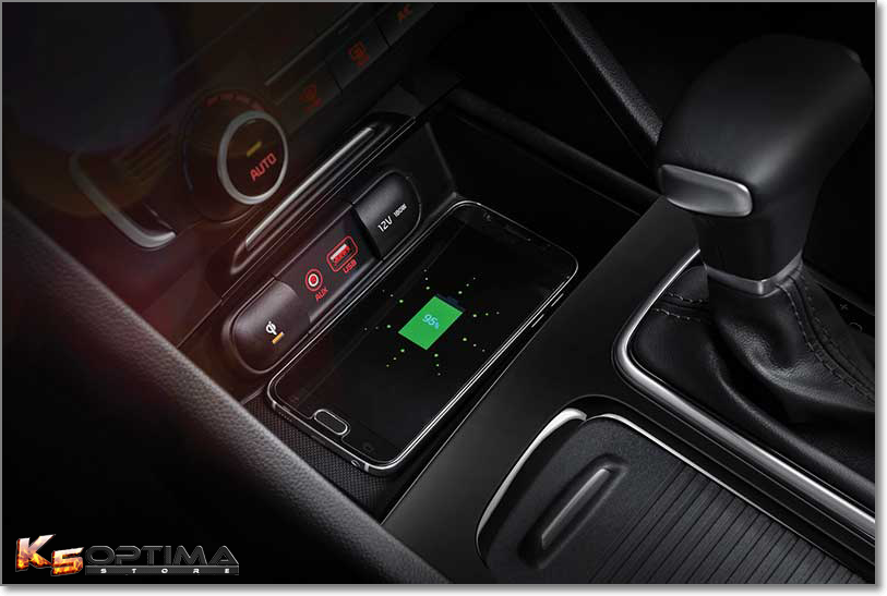 Kia Optima Wireless Charger