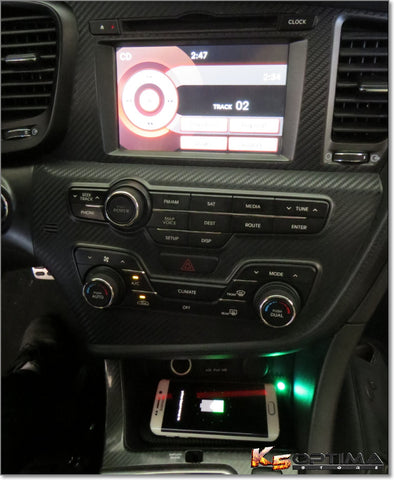 Kia Optima & Kia Forte Wireless Phone Charging Kit