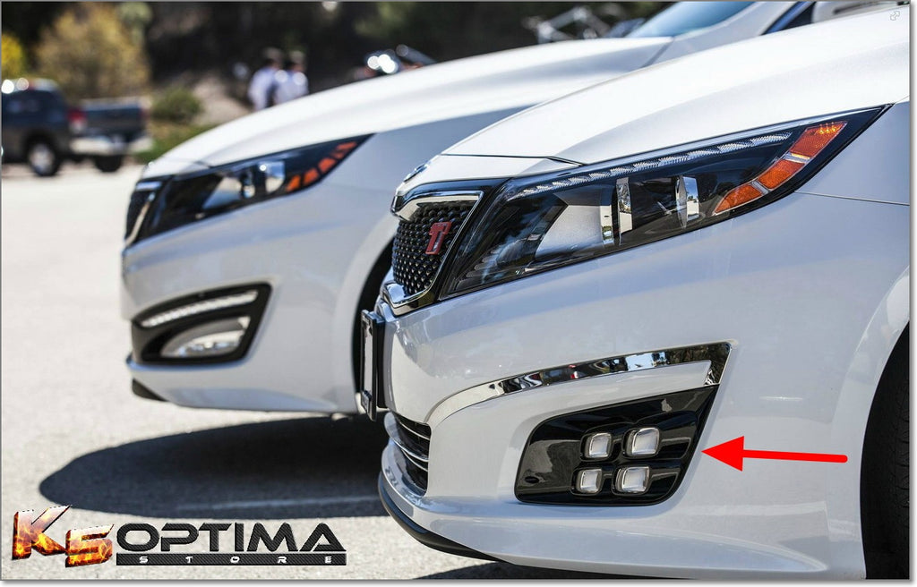 K5 Optima Store 20142015 Kia Optima Dual Colored Quad LED Fog Lights
