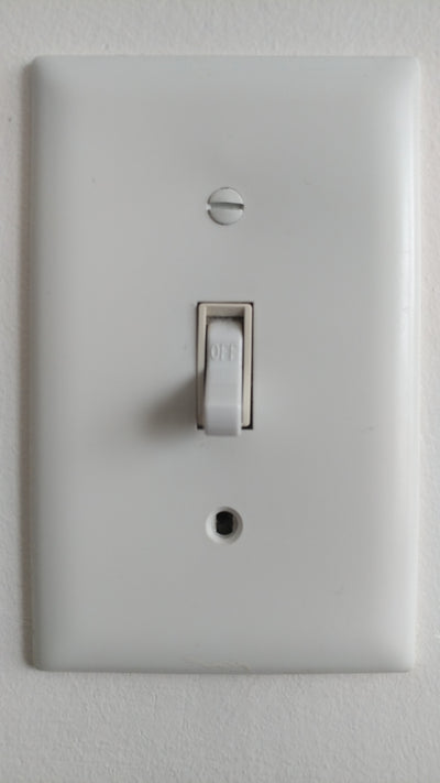 Hidden WIFI IP 1080P Camera AC Real Working Light Switch With Motion Detect-SPYMODS