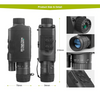 HD WIFI Digital Infrared Night Vision Hunting Monocular Outdoor Telescope With DVR!-SPYMODS