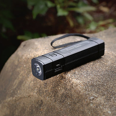 FLASHLIGHT USB POWER BANK CHARGER-SPYMODS