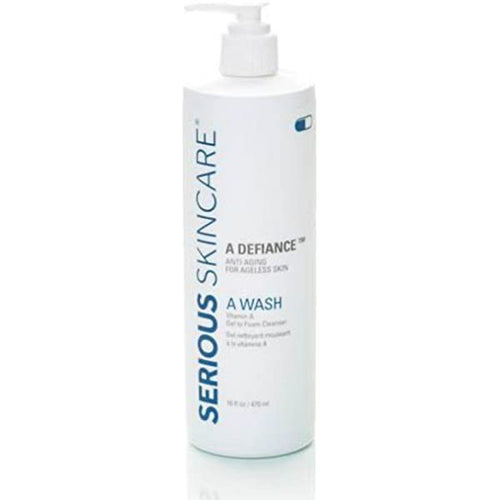 A Wash Vitamin A Gel to Foam JUMBO Size Cleanser 16oz