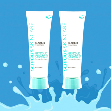Glycolic Cleanser Twin Pack 4oz Each