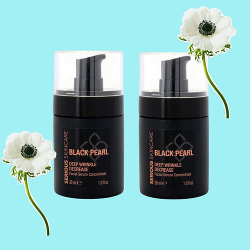Black Pearl Deep Wrinkle Decrease Facial Serum 1oz DUO