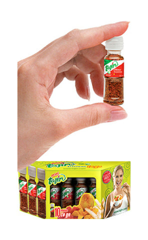 Mini Tajin To Go Fruit Seasoning Display (10 Mini-PC)