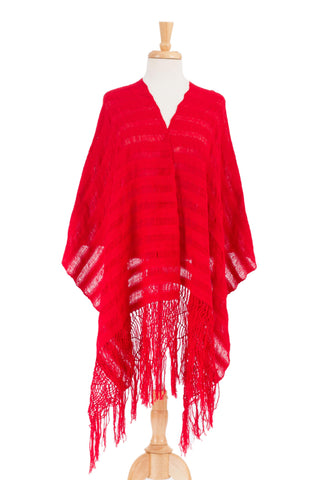 'Oaxaca My Love' Hand Woven Mexican Rebozo Shawl