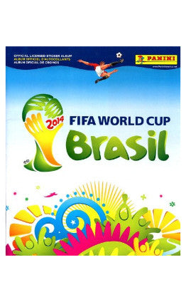 Brazil 2014 World Cup Album by Panini