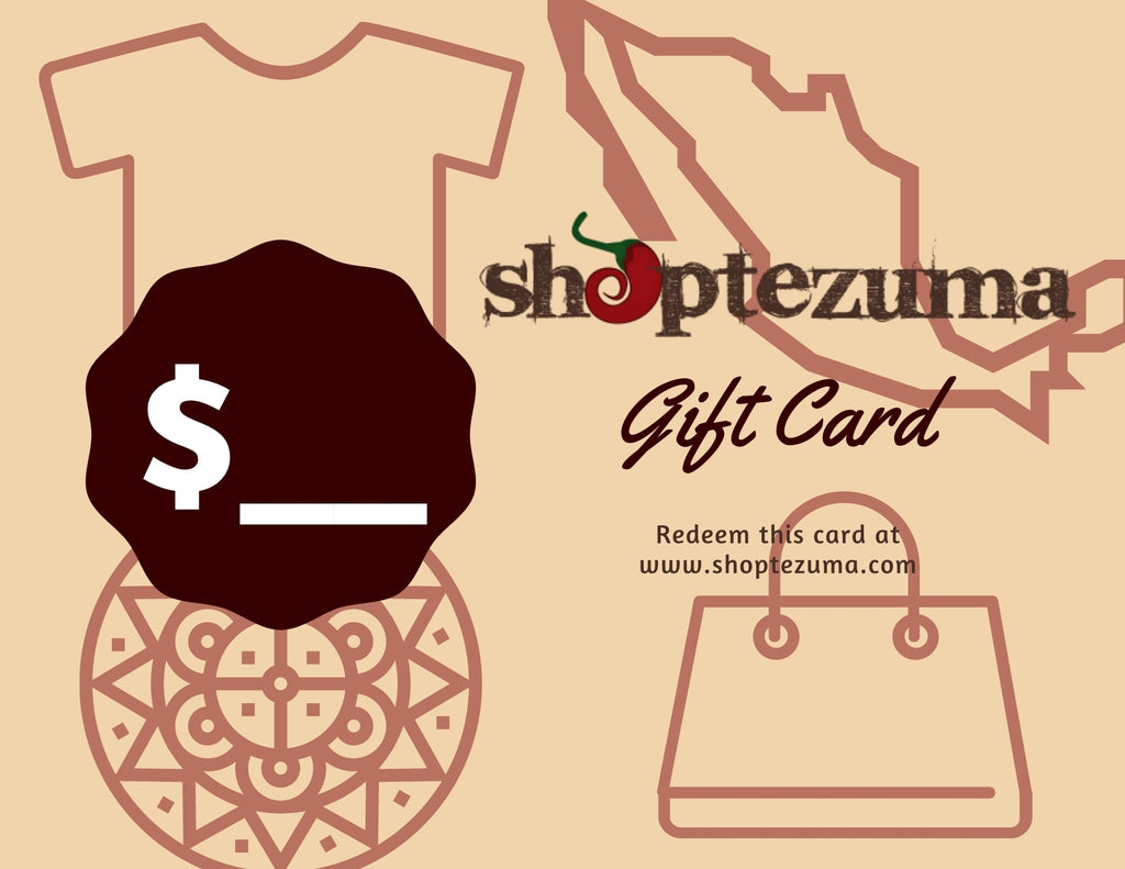 Shoptezuma Gift Card