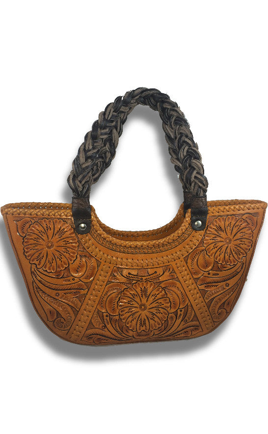 """Veracruz"" Leather Handbag"
