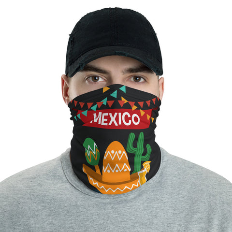 Mexican Party Neck Gaiter