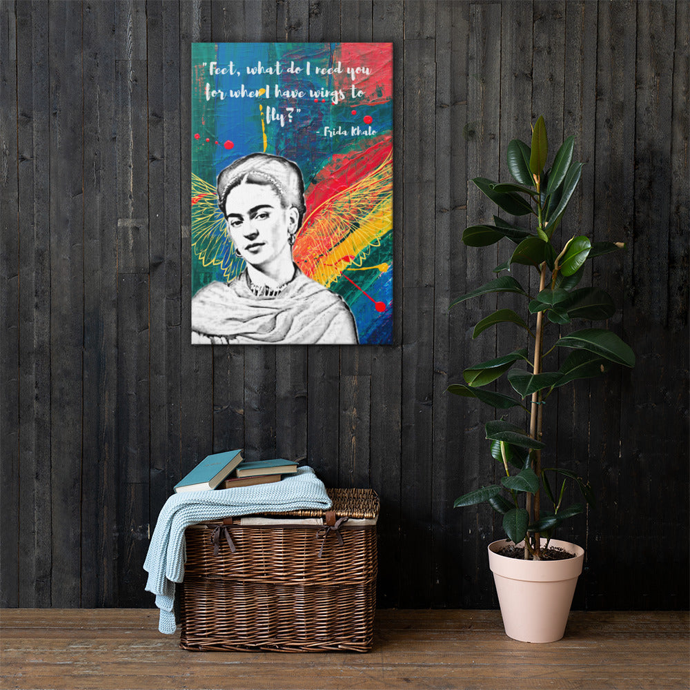 Frida Wings to Fly Canvas