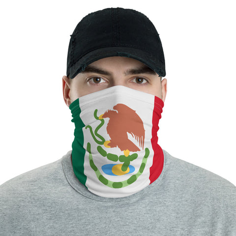 Mexico Flag Neck Gaiter