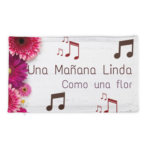 Una Mañana Linda Pillow Case