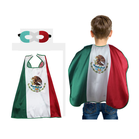 Mexico National Flags Cosplay