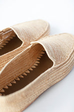 Load image into Gallery viewer, Unisex Raffia Loafer