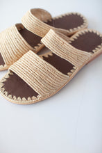 Load image into Gallery viewer, Raffia Slip Ons