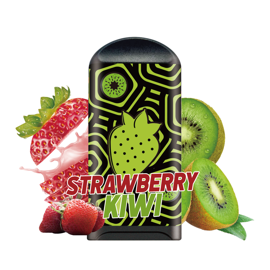 LOON AIR+ - STRAWBERRY KIWI 10-PACK - The Loon Wholesale