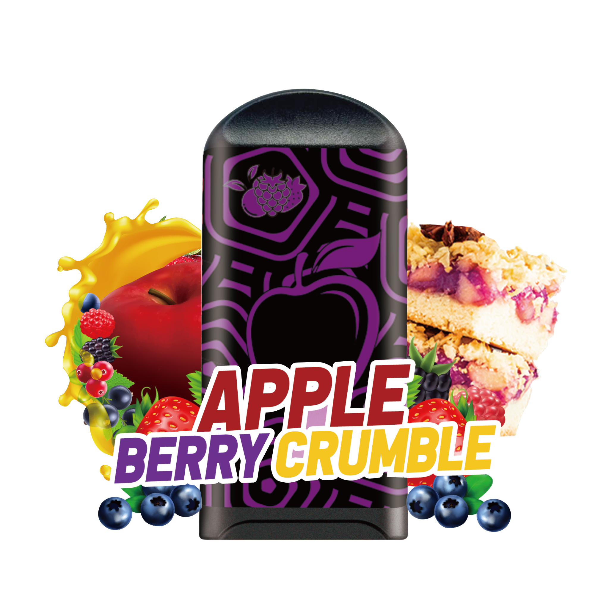 LOON AIR+ - APPLE BERRY CRUMBLE 10-PACK - The Loon Wholesale