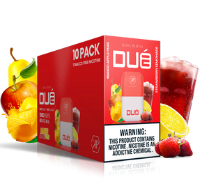 KING PLUTO - DUÉ  10-pack - MANGO APPLE PEAR X STRAWBERRY LEMONADE - The Loon Wholesale