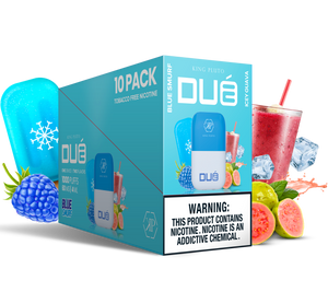 KING PLUTO - DUÉ 10-pack - BLUE SMURF X ICY GUAVA
