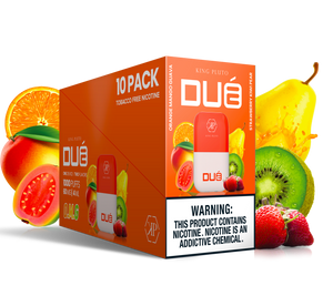 KING PLUTO - DUÉ 10-pack - O.M.G. X STRAWBERRY KIWI PEAR - The Loon Wholesale